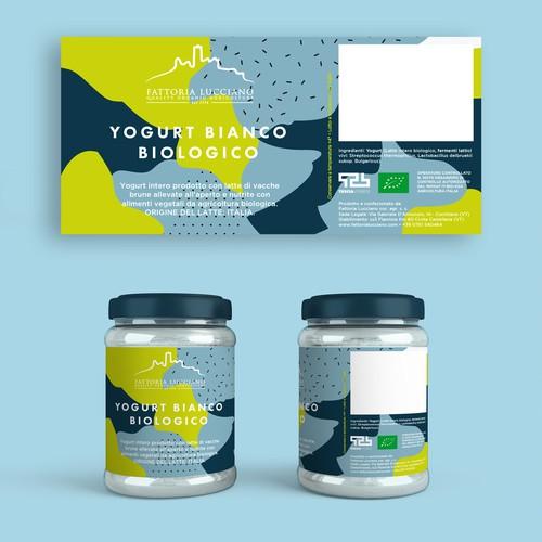 Yogurt Label