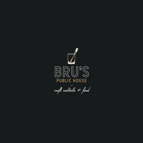 Brand Identity Concept for Bru's Public House