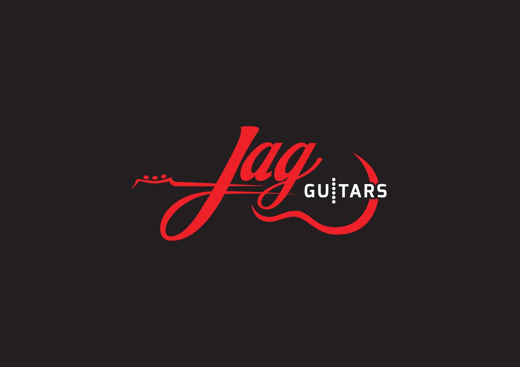JAG Guitars/Pickups logo design,