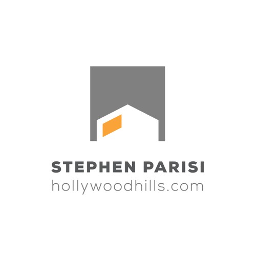 Create modern logo for HollywoodHills.com :: Architectural Real Estate