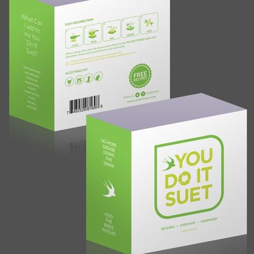Label package for You Do It Suet