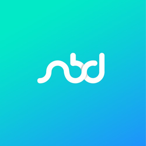 simple logo for nbd