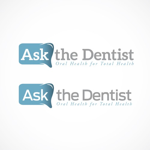 Logo for the Dr. Oz of Oral Health, AsktheDentist.com by Dr. MarkBurhenne