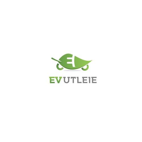 EV logo design