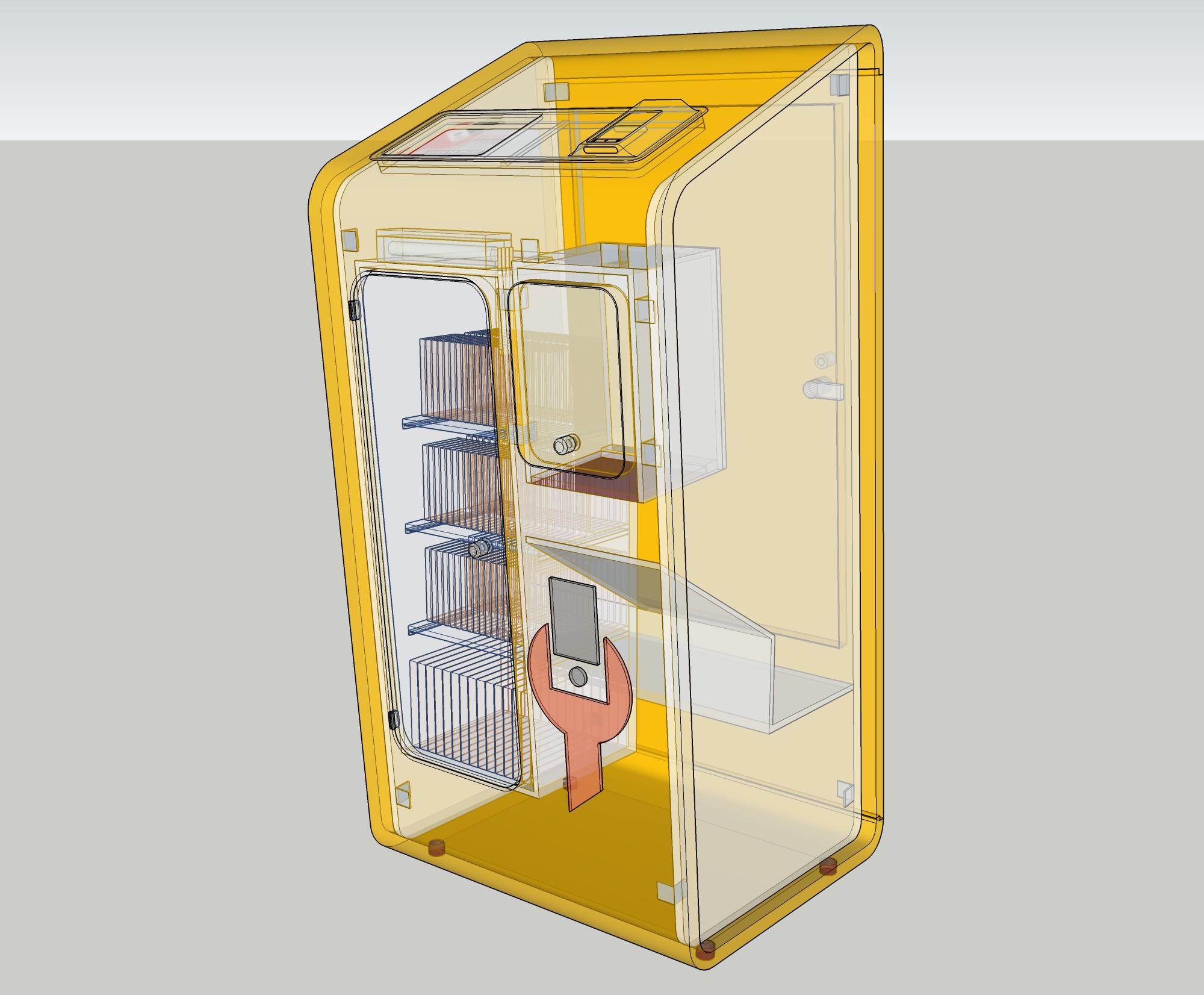 Design our Next Gen repair Kiosk (hardware) for 200 shops
