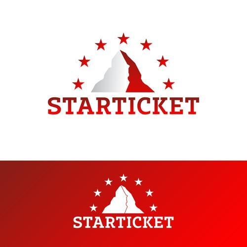 Logodesign für Starticket (Schweiz)