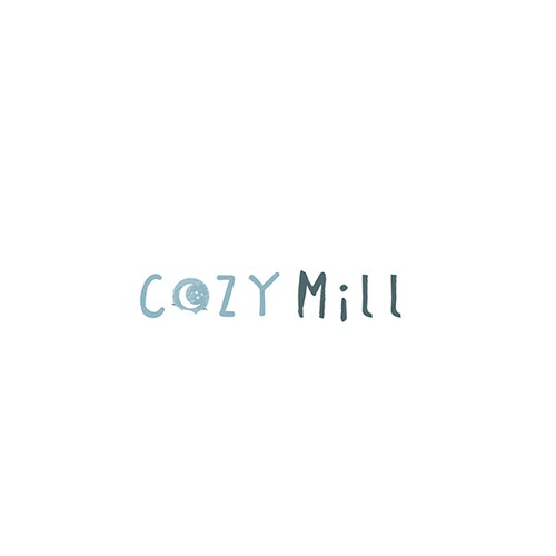 Cozy Mill: a comforting logo for a blanket company
