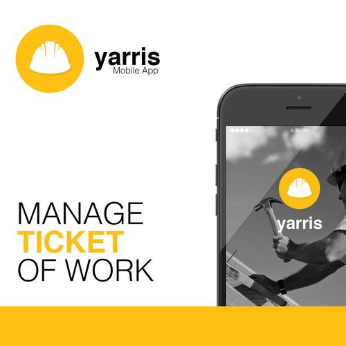 Yarris移动应用程序图标