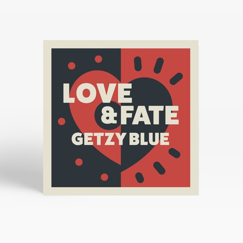 CD Cover Design for Getzy Blue