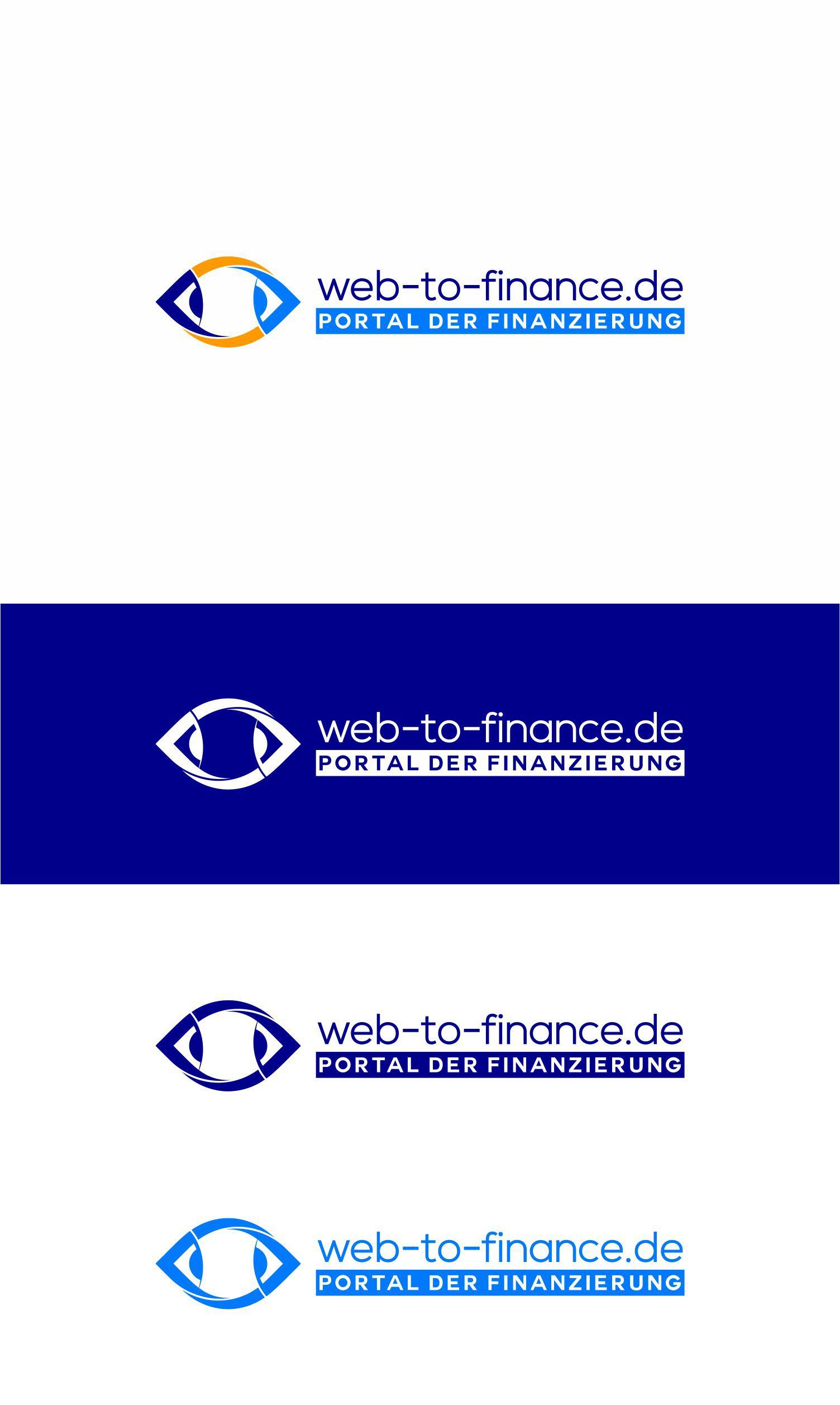 Create an impressive logo for the webportal web-to-finance.de