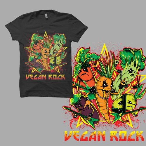 vegan rock