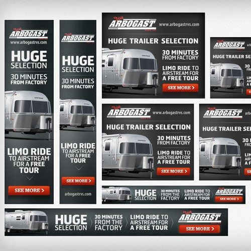 Arbogast Airstream needs a new banner ad