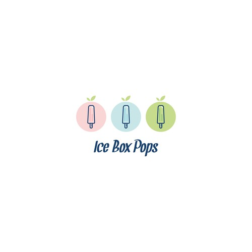 Logo concept for Ice Box Pops