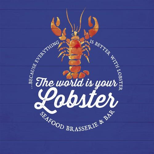 Logo für Seafood restaurant spezialisiert auf lobster