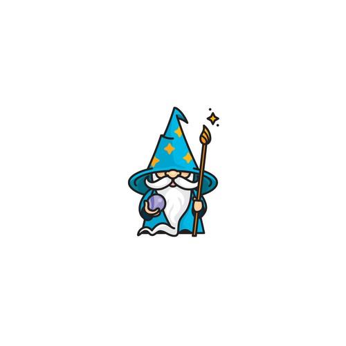 Fun Wizard Mascot for kid's activities website