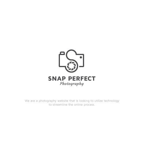 Designed a logo for photography