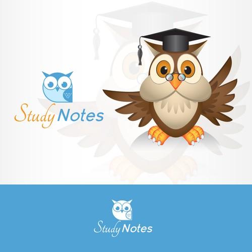 Create a logo for a fun high school study site!