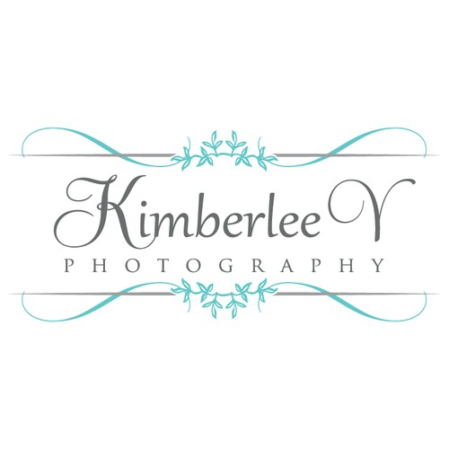 sophisticated wedding photographer logo