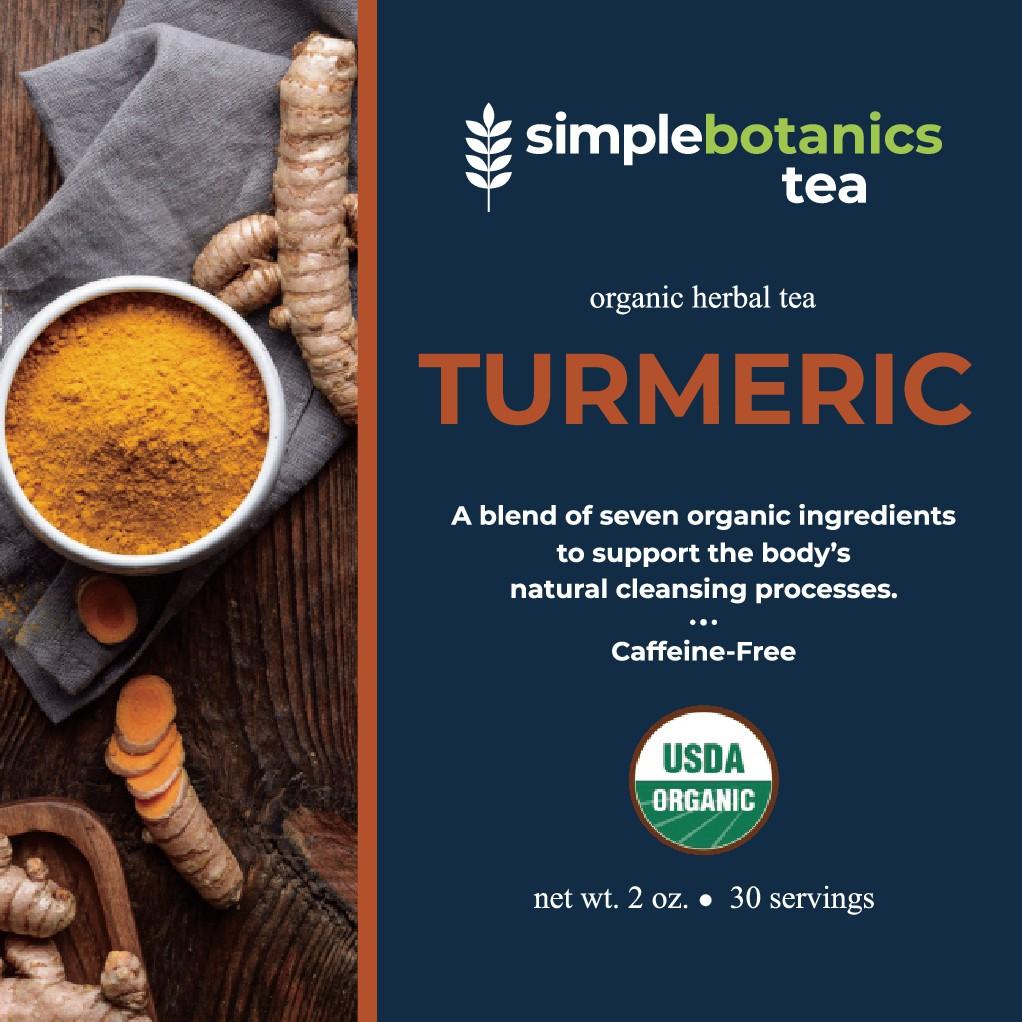 Simple Botanics Tea Packaging
