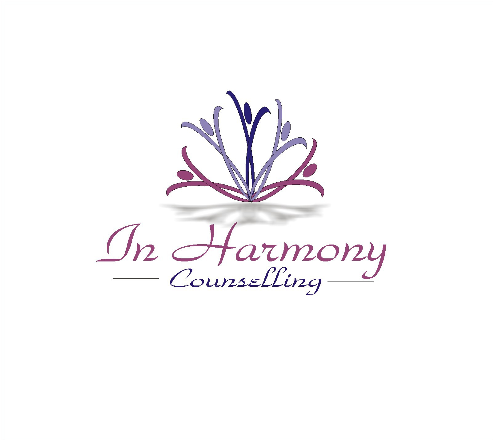 Help In Harmony Counselling with a new logo