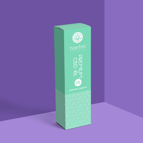 Box Design for CBD oil