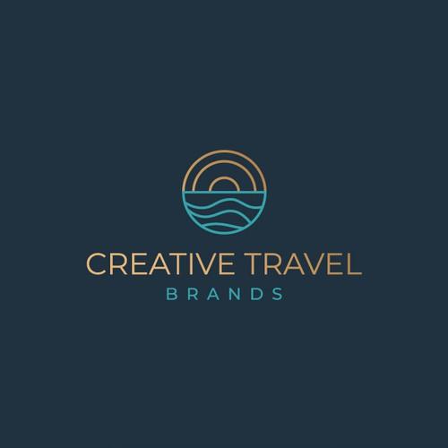 Modern logo for luxury travel company