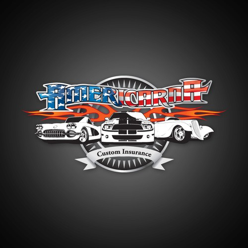Help Americarna Custom Insurance with a new logo