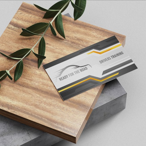 Business Card for driver training