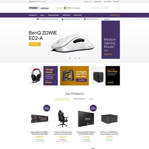 Mwave - webshop