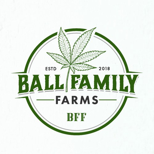Classic logo for Cannabis Farm