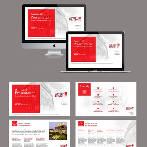 Powerpoint presentation for Real Estate client