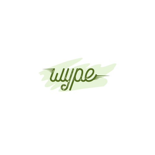 Logo for a toilet wipe brand