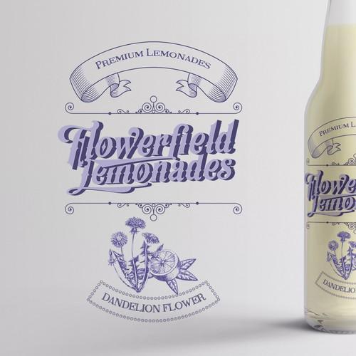 Premium Lemonades with a focus on retro style