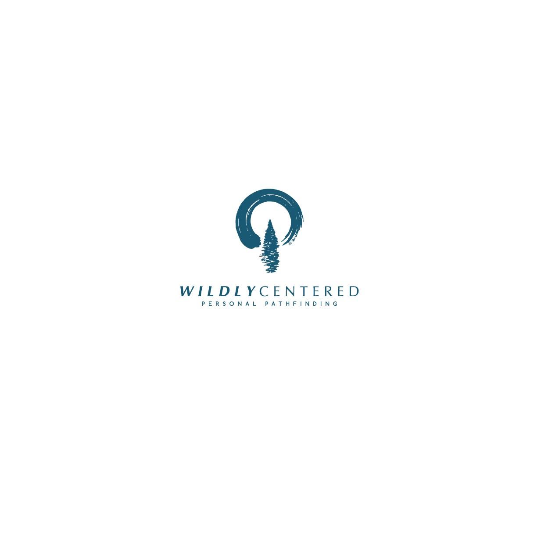 Design a minimalist logo for a self-help wilderness retreat company
