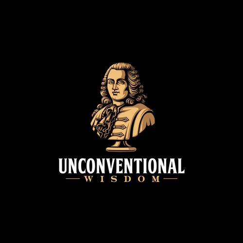 Logo design for Unconventional Wisdom