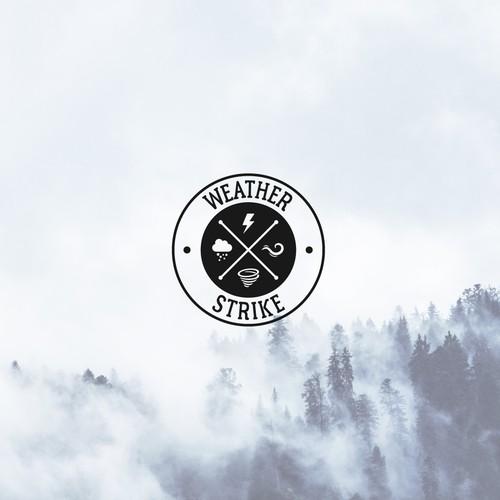 Logo design for WeatherStrike.com