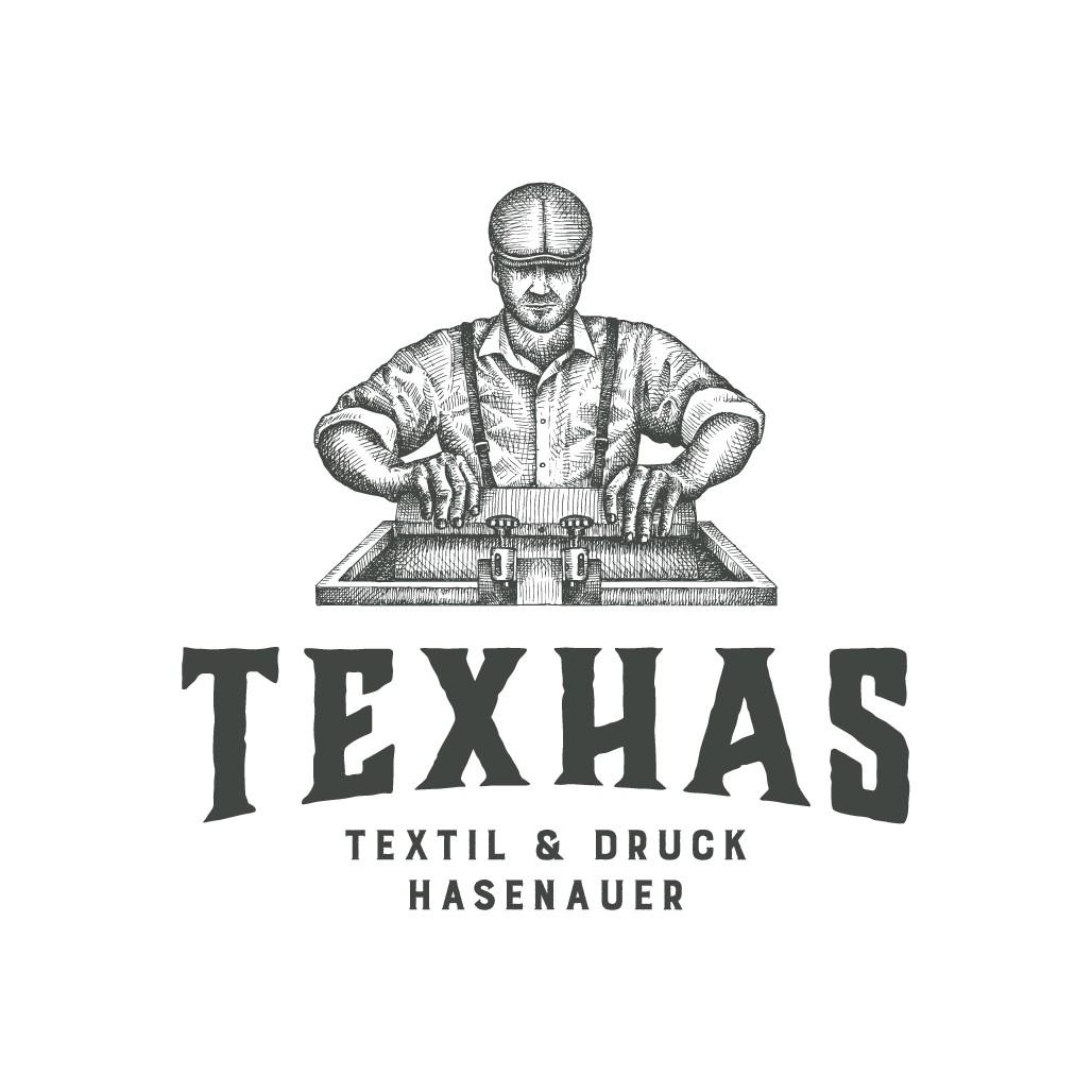 einprägendes Firmenlogo für Grafik + Textil + Veredlungsbranche (Textildruck)