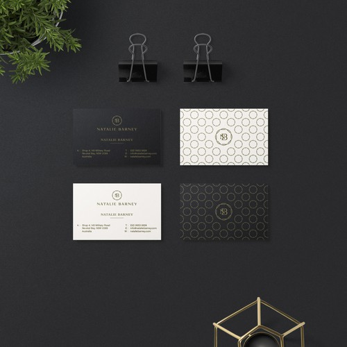 Elegant Stationary Design for Natalie Barney