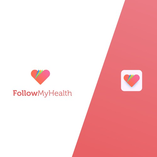 Logo design for a 10 Million User Health Care app
