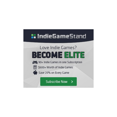Banner Ad for Indie Game Stand
