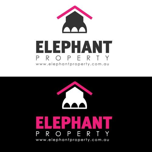 Elephant Concept Logo