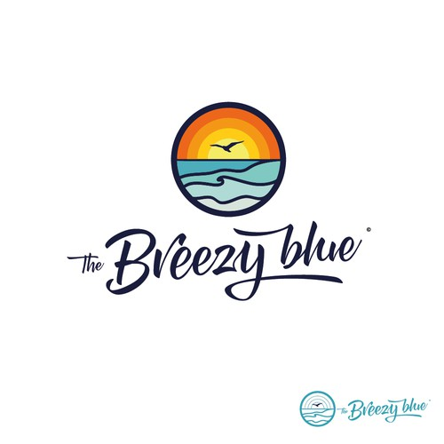 The Breezy blue logo