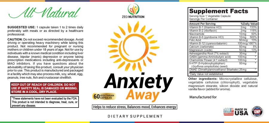 NEEDED - LABEL DESIGN FOR ANXIETY SUPPLEMENT (Guaranteed Contest)