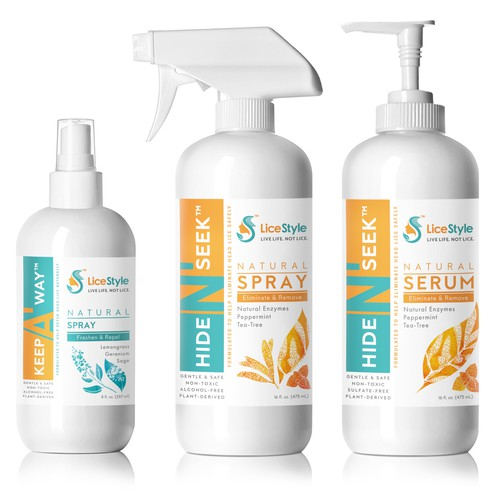 2 Lines Of Head Lice Prevention & Treatment Products LiceStyle™