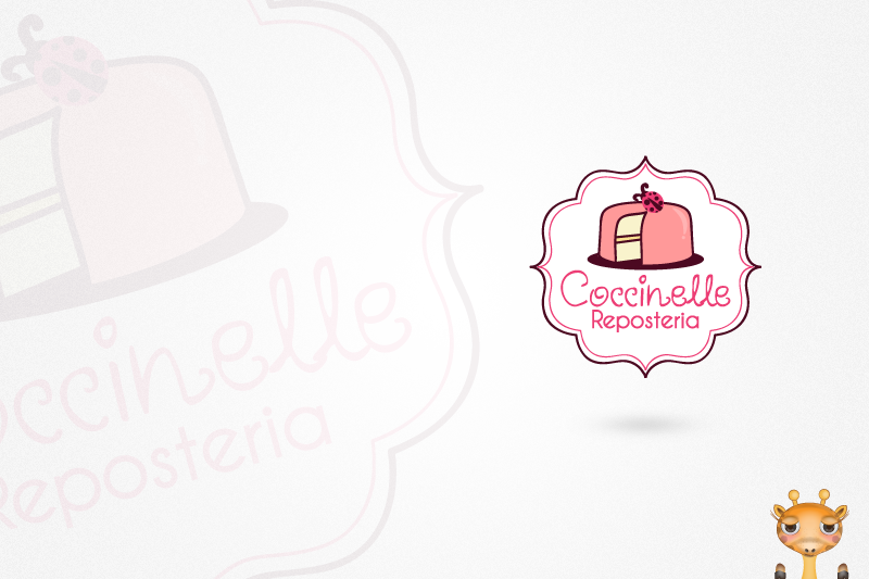logo for Coccinelle Reposteria