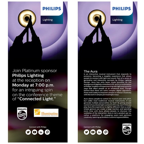 Lighting Convention Roll up Banner