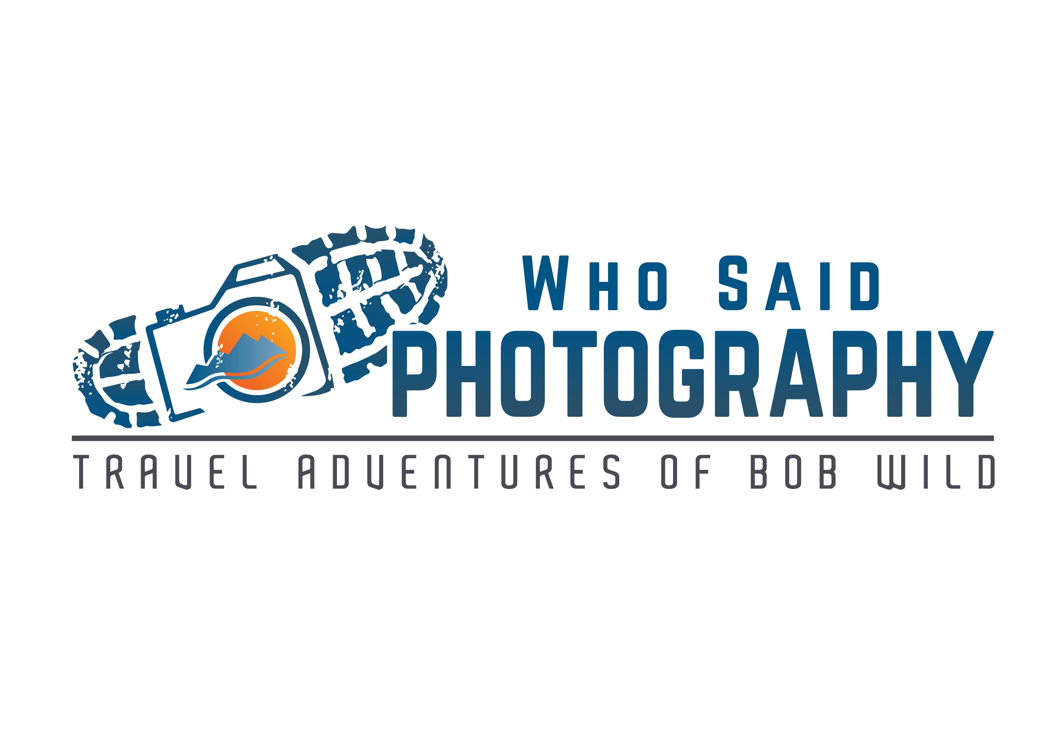 Who Said Photography - Logo design