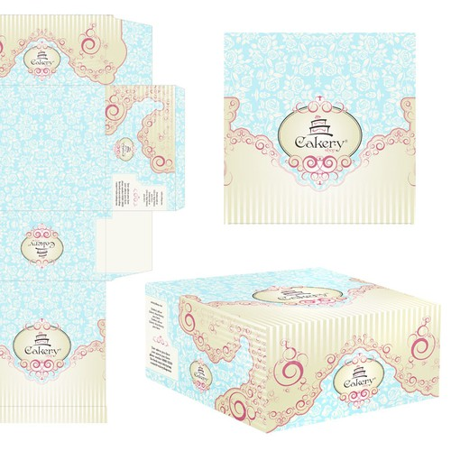 Product Packaging for Cakery Shop