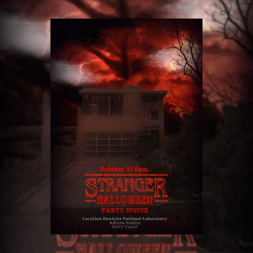 Halloween Themed Flyer