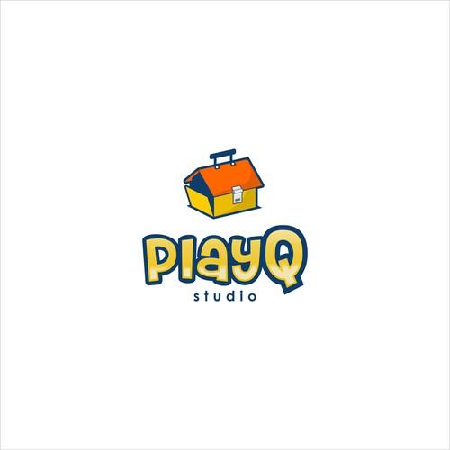 Illustrative Logo Concept for Kids Games Studio